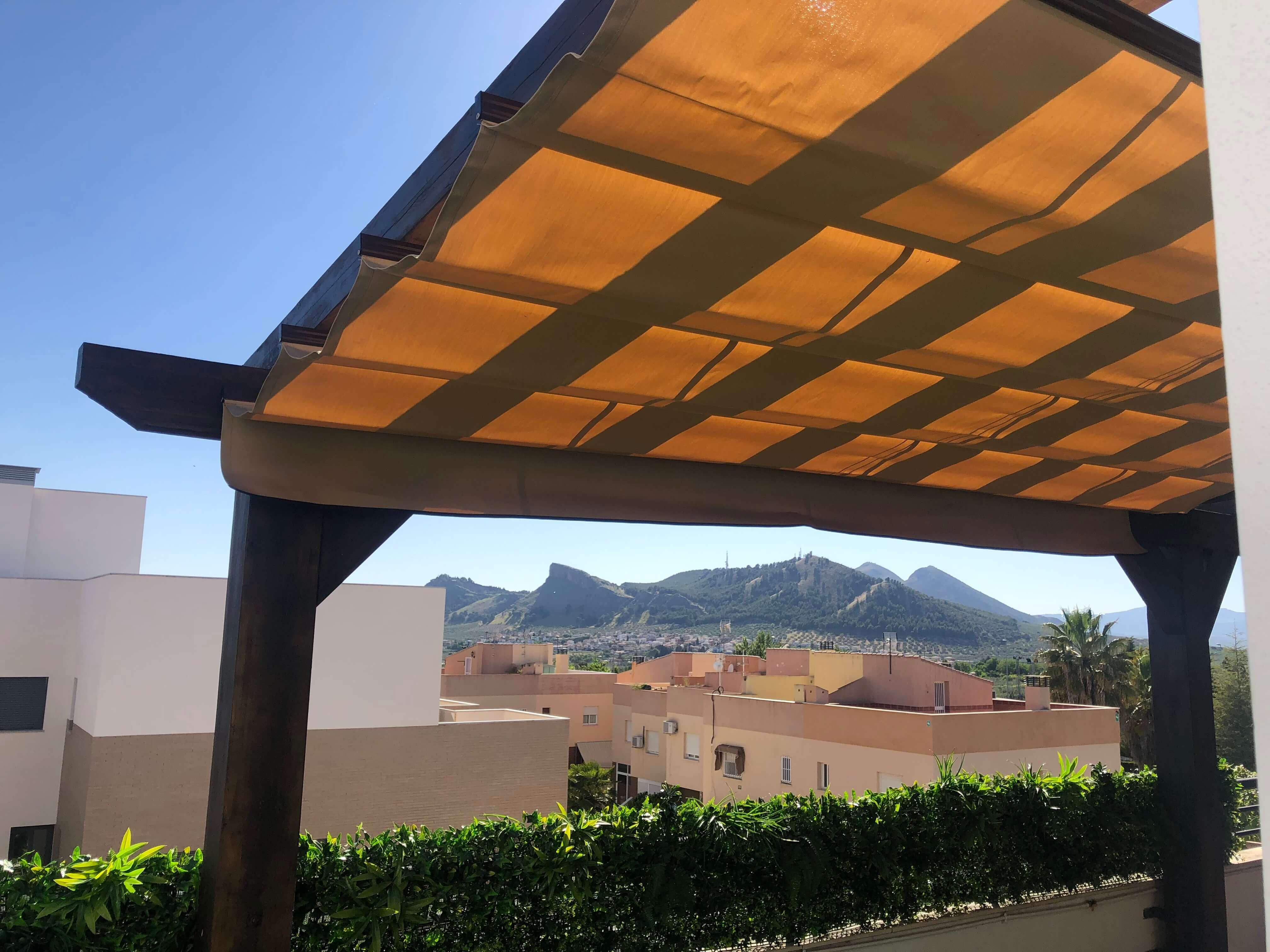 Pergolas de madera Granada